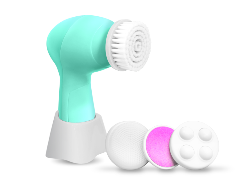 FACIAL CLEANSING BRUSH WITH STAND