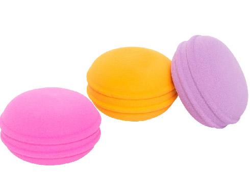 Petite macaron blending sponges