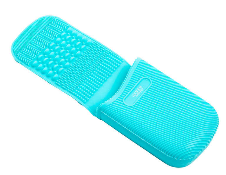 Brush Cleaning pad and holder