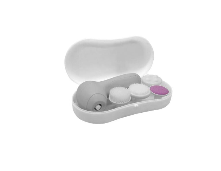 4-IN-1 ELECTRIC SPA BRUSH WITH CASE